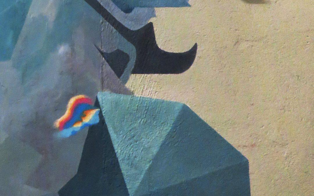 «Iris» mural