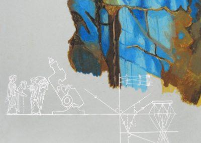 Iris dessillée ou le réveil des parures, 2012